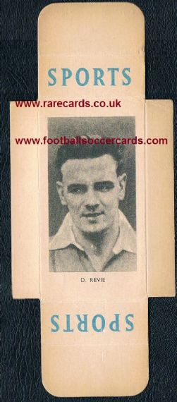 1950 Revie Leeds Hull Leicester Man C